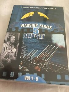 PERISCOPE WARSHIP SERIES Battleship Navy, Kriegsmarine, Soviet vs US Navy 5-Disc