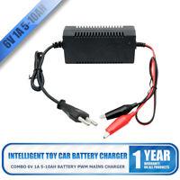 1PCS 6V 1A Intelligent Chargeur de Batterie Plomb-Acide Pour Voiture Moto Auto