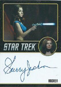Sherry Jackson Black Border Autograph, Star Trek TOS 50th Anniversary