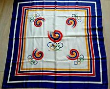 Seoul Korea Olympics 1988 Official Logo Square Scarf Large 35x35