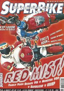 Yamaha RD350LC ZX-9R 900SL Ducati 888 R1100RT 916 RF900R M900 ZZ-R1100 Z900 LC