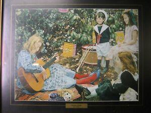 """The Music Lesson"" by John Lennox framed painting / print"