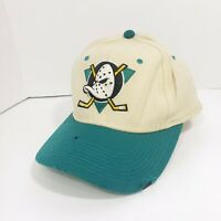 VTG Anaheim Mighty Ducks Center Ice Sports Specialties Wool Fitted Hat/ Cap