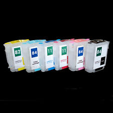 Fillable Refill Quick Fill IN Refill 84 11 82 XL Ink Cartridges For HP