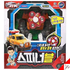 Hello Carbot SPINNABLE LED Fidget Spinner Transformer Robot Car Kids Toy 2019