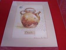 """ CRUCHE "" "" Pots Provencausc ""Poster Print by Pascal Cessou, 8""w x 12""h"