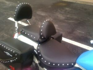 Suzuki Volusia Boulevard C50 or C50T Motorcycle Driver Backrest Quick Release