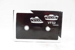VOX 2 Button Footswitch-AD Series and JamVOX (VFS2)