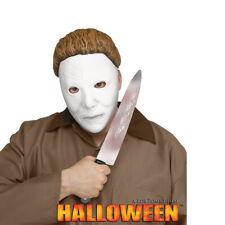 Michael Myers Anfang Maske + Messer Erwachsene Halloween Kostüm Zubehör