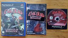 Evil Dead ps2 / fr intégral / complet / dvd sans rayure / rare / envoi gratuit