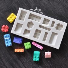 1 Pc Lego Robot Silicone Cake Mold Fondant Mold Cake Decor Tools Chocolate Mold