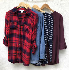 Maternity Tops Small Lot Of 4 Shirts Long Sleeve Fall Winter Business Casual