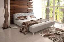 Bett Betten Doppelbett Schlafzimmer Ehe Leder Polster Bett Doppelbetten -GRENADA