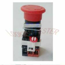One New Omron Emergency Stop Pushbutton Switch A22e M 12