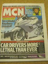 MCN - MOTORCYCLE NEWS - 6 CYLINDER HAYABUSA -  - 15 March 2006