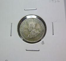 B: Strait Settlement 10 cents 1926 - VF