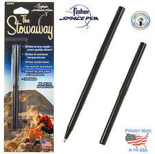 Fisher Space Pen #SWY-Black / Black Stowaway Pen