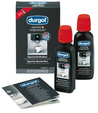 durgol Swiss espresso Special Decalcifier  for all coffee machines 2x125ml