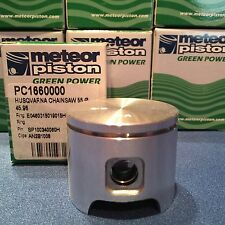 Meteor piston for Husqvarna 55 Closed port version, Caber rings 46mm READ!!