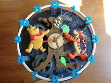 KNG America Disney Winnie The Pooh Animated Musical Talking Wall Clock 0305