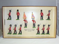 BRITAINS 5186 BRITISH WELSH GUARDS LIMITED EDITION METAL TOY SOLDIER FIGURE SET