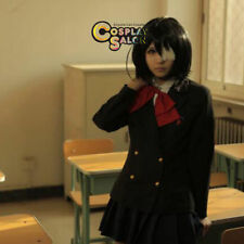 30CM Anime for ANOTHER Misaki Mei Black Short Party Cosplay Wig Heat Resistant