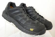 CAT Caterpillar P90284 Black Work Safety Comp Toe Non-Slip Sneakers Men's US 14