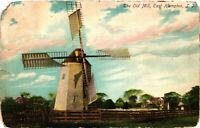 Vintage Postcard - 1907 The Old Mill East Hampton Long Island New York NY #2935