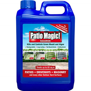 Patio Magic! Concentrate: Ideal for Patios, Paths and Driveways Kills Algae and