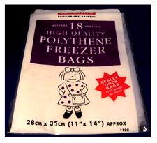 Polythene Freezer Bags 18 High Quality Bags By Caroline