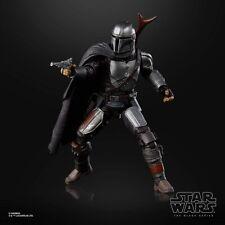 6 Inch Mandalorian Beskar Armor Disney+ Figure Star Wars Black Series TBS .LOOSE