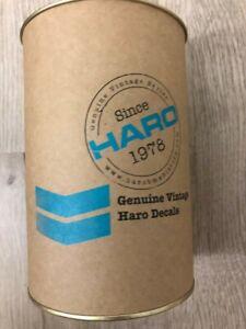 New BMX Haro 1986 Decal Master Blue