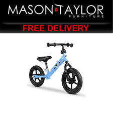 Mason Taylor 12 Inch Kids Balance Bike - Blue KBB-STEEL-12IN-BL