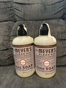 Mrs Meyers Clean Day Liquid Hand Soap In LAVENDER Scent- 12.5 Oz (2 Pack)