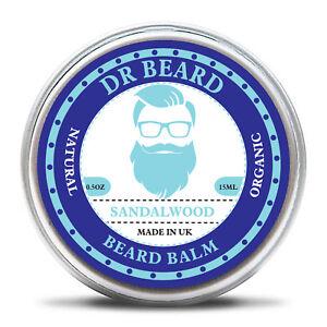 Dr Beard - Organic Beard Balm & Skin Conditioning 15ml - 100% Pure Sandalwood