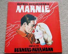 MARNIE SOUNDTRACK VINYL LP - RARE! - BERNARD HERRMANN - SOUND/STAGE 2306