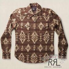 $795 RRL Ralph Lauren Heavy Rustic Silk Linen Sweater Cardigan Jacket-MEN- L