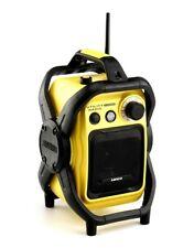 Lenco Worksite Radio UT-1000 - Water Resistant FM Radio