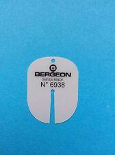 Zifferblattschutz beim Zeigerabnehmen Bergeon Nr. 6938 Dial protection