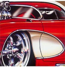 """""""57 Vette"""" 1957 Chevy Corvette New Embossed METAL """"Garage Decor"""" Sign"""