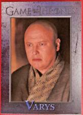 GAME OF THRONES - Season 1 - Card #38 - VARYS - Rittenhouse 2012