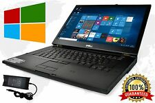 DELL LAPTOP LATiTUDE WINDOWS 10 CORE 2 DUO 4GB 250GB WIN DVD WIFI PC HD COMPUTER
