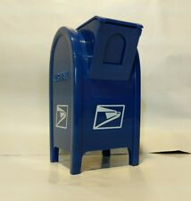 Blue USPS Mail Box Bank Coin Money 4
