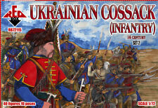 RED BOX 1/72 UCRANIA cosaco (Infantería) 16 Century Set 2 #72115