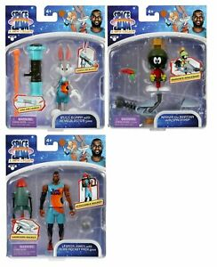 SPACE JAM A NEW LEGACY BALLERS ACTION FIGURE PACKS SET MARVIN BUGS LEBRON 2021