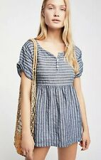 NEW CP Shades Some Like It Stripe Tunic Size Medium Linen Top