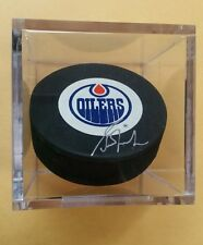Grant Fuhr Autographed Signed Oilers NHL Hockey Puck