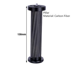 Lens bracket holder carbon fiber Pillar for camera quick release plate