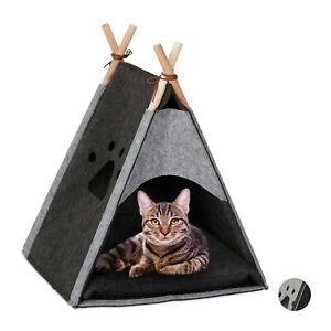 Katzenzelt Hautierzelt Hundezelt Tiertipi Haustiertipi Indoorzelt Kuschelhöhle