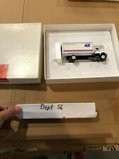 Winross US MAIL 10 wheel postal van box truck we deliver for you USPS